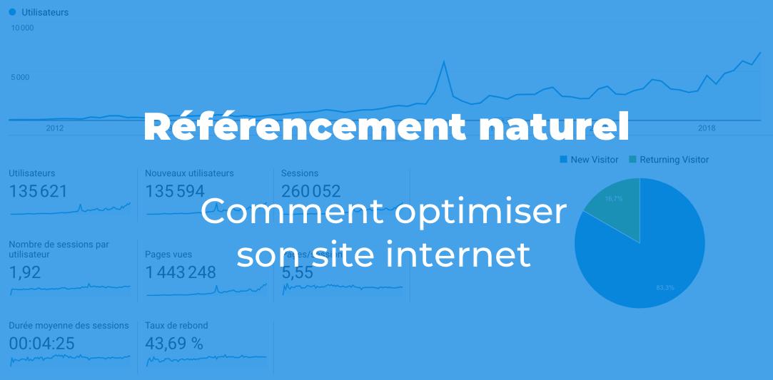 Référencement naturel comment optimiser son site Internet